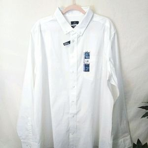 💐3/$15💐 MEN'S LONG SLEEVE WHITE DRESS SHIRT 2XL